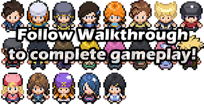 Pokemon Mega Adventure Walkthrough